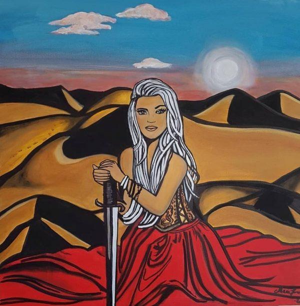 The queen of sahara.
