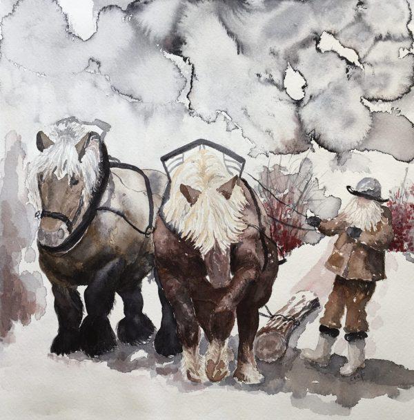 Ardennerhästar