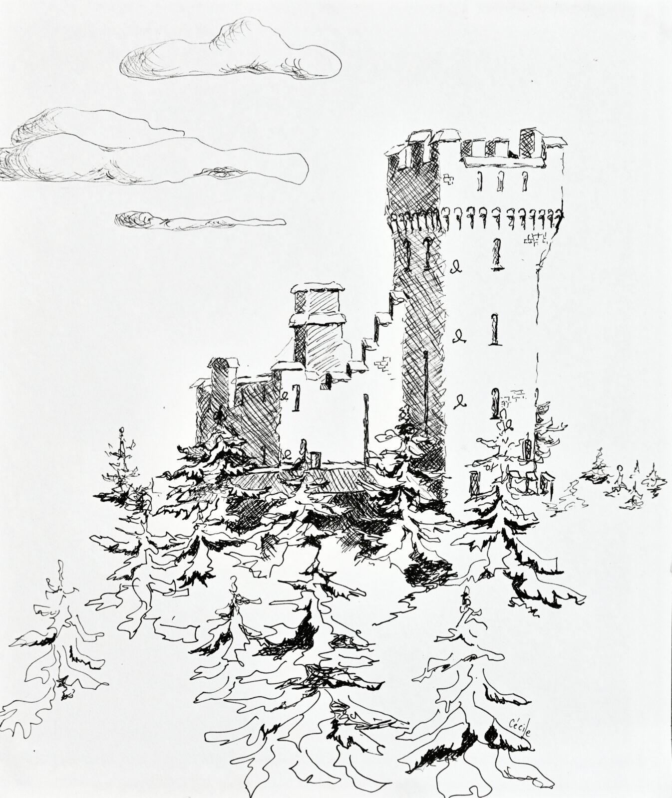Sol på Cedergrenska Tornet