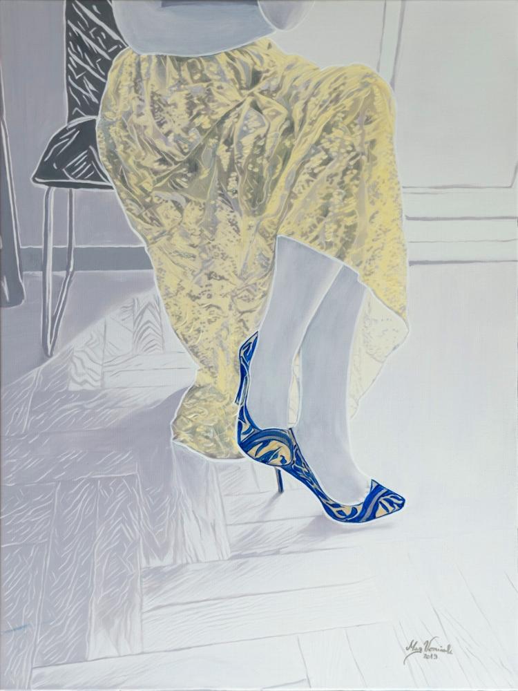 Yello heels