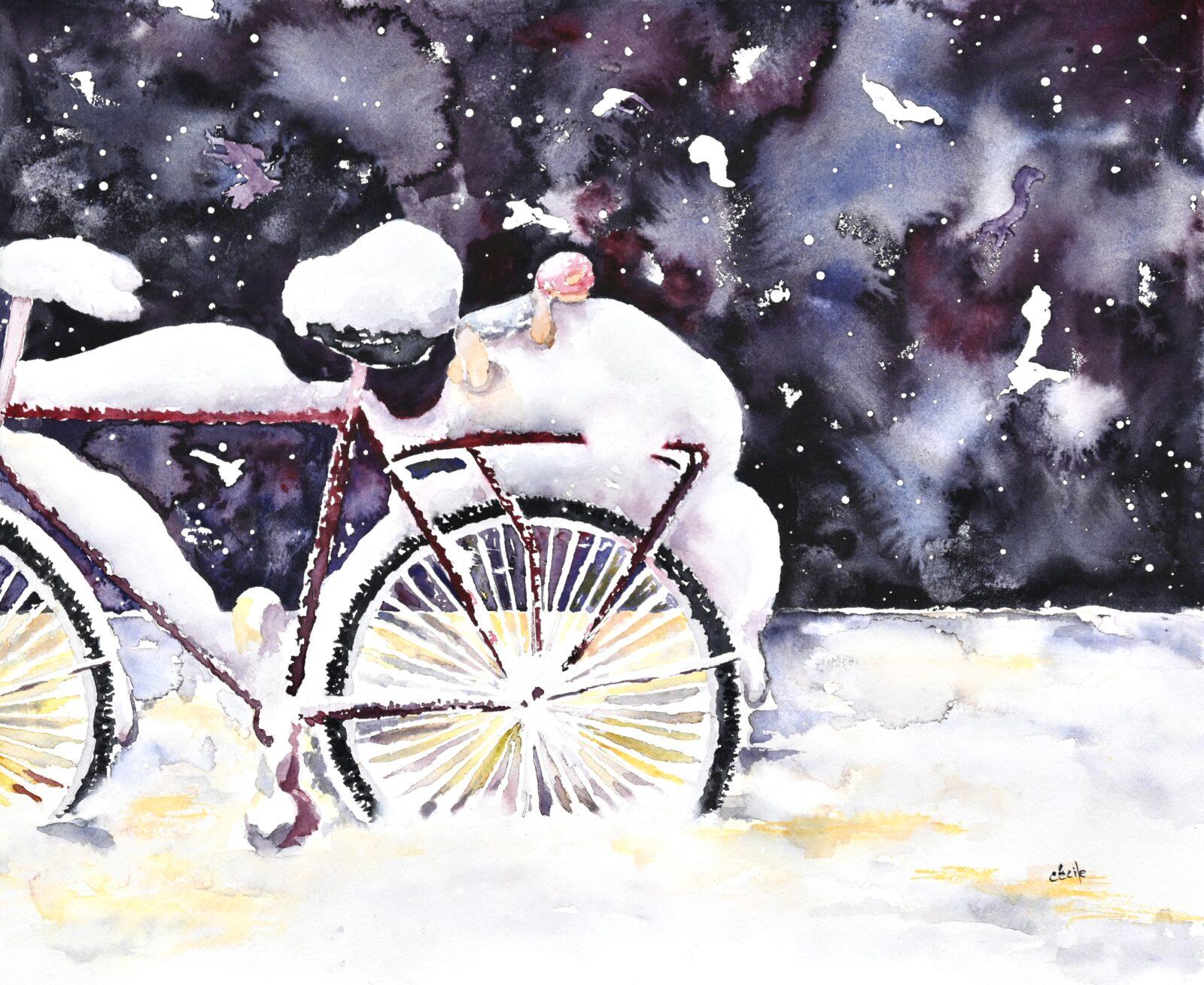 Fluffigt, cykel