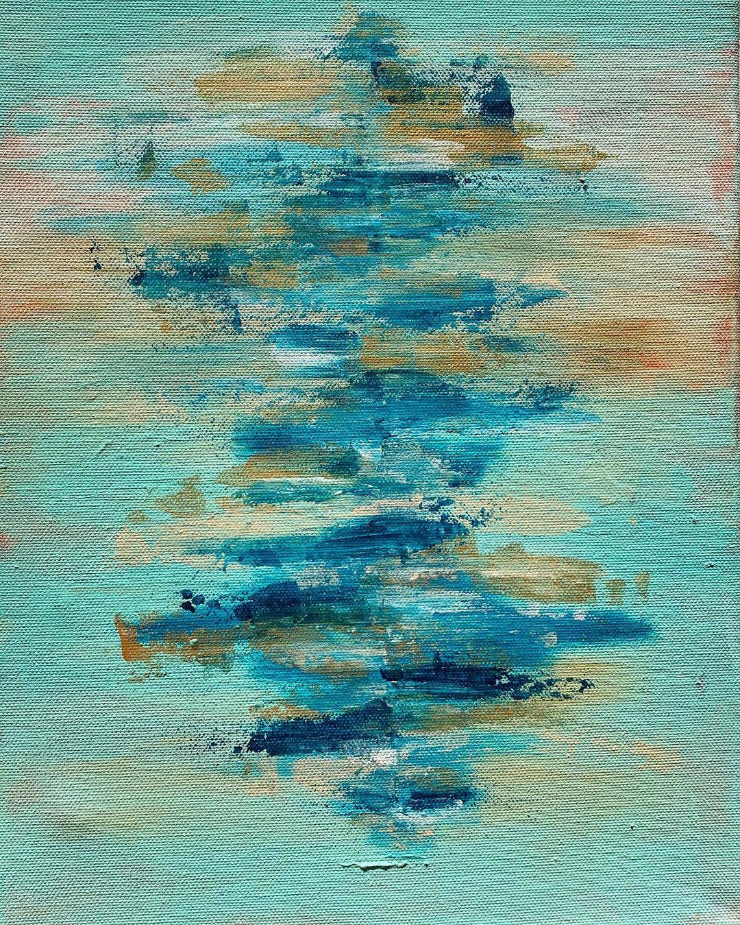 Abstract Sea no. 7